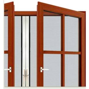 Retractable Screen Door - Double Panel