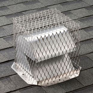 "11"" x 11"" Stainless Steel Roof Vent Guard"