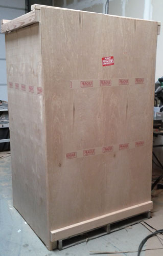 Large Quantity Screen Crate