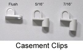 Casement Clips