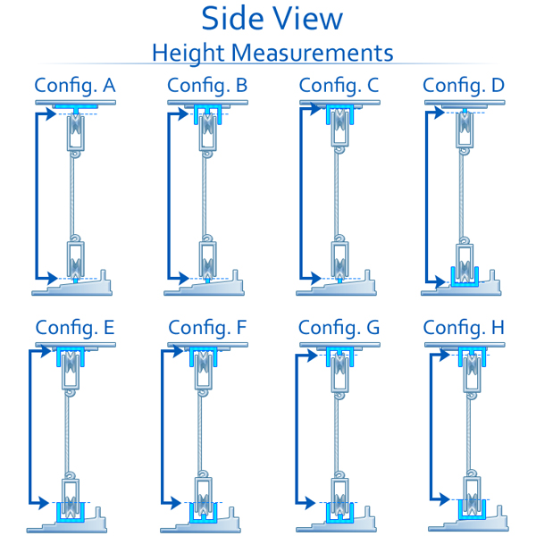 Screen Door Configurations