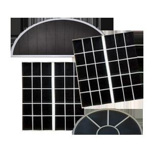 aluminum window screens