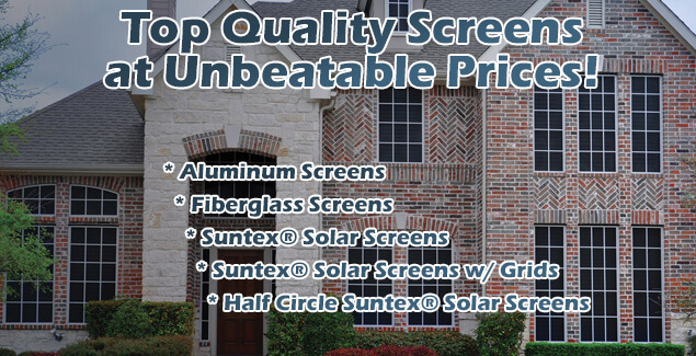 Affordable Window Screens And Custom Solar Screens