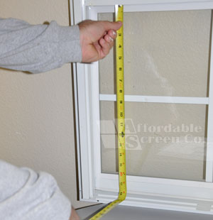 Measure the Height of the Window